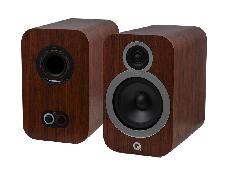 3030i frontpair walnut